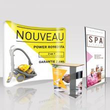 Evènementiel, stand, salon Impressions Publicitaire