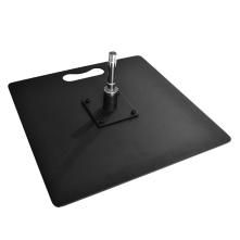 Pied platine carré renforcé 15kg - Piave